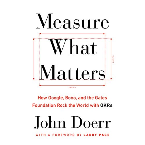 Measure What Matters cover art