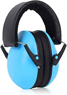 Hamkaw Baby Ear Muffs Noise Protection, 25NRR Kids Ear Protection Noise Cancelling Earmuffs for Infant and Toddler 3 Months to 2 Years Airplane Travel Lawn Mower Shooting Noise Reduction Earmuffs