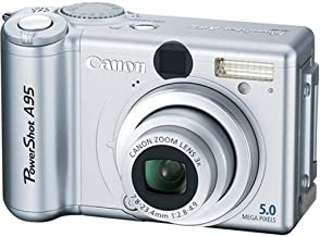 Canon PowerShot A95 5MP Digital Camera with 3x Optical Zoom