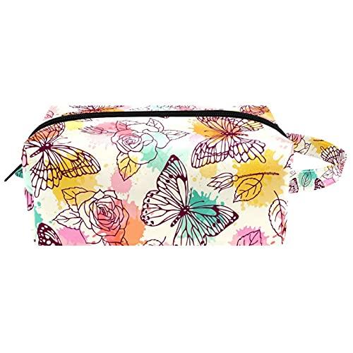 Neceser colgante bolsa de cosméticos papelería organizador bolsa portátil estuche de lápiz nube en rosa