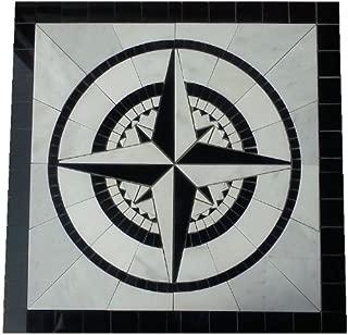 Best compass rose tile floor medallion Reviews
