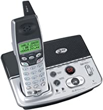 AT&T E5630 5.8 GHz Expandable Cordless Phone with Answering System (Silver/Black)
