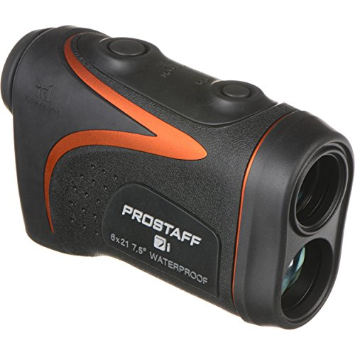Nikon Laser Prostaff 7i - Telemetro Laser, Color Negro y Naranja