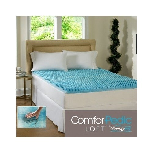 Amazon Com Beautyrest 3 Inch Sculpted Gel Memory Foam Mattress