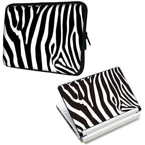 Luxburgo - Funda blanda para portátil de 10 pulgadas con diseño de lujo y calcomanía para portátil Para portátiles Apple, Acer,...
