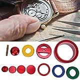 Pbzydu Reloj Profesional Dial Frontal abridor de Caja Herramienta de reparación de Espejo de Molde de Vidrio Set de relojero