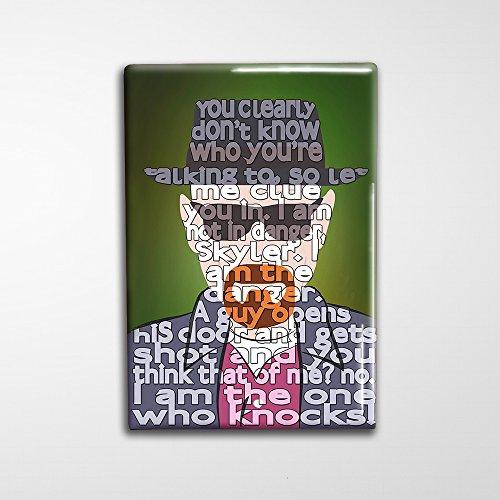"Breaking Bad Decorative Art Magnet - 2x3"""
