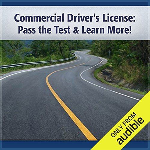 Commercial Driver's License audiobook cover art