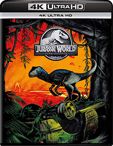 ジュラシック・ワールド 5ムービー 4K UHD コレクション(5枚組) [Blu-ray]