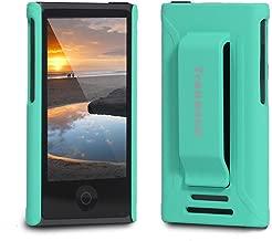 Tranesca Compatible with iPod Nano Protective case for Apple iPod Nano 7th & 8th Generation (Sea Green)