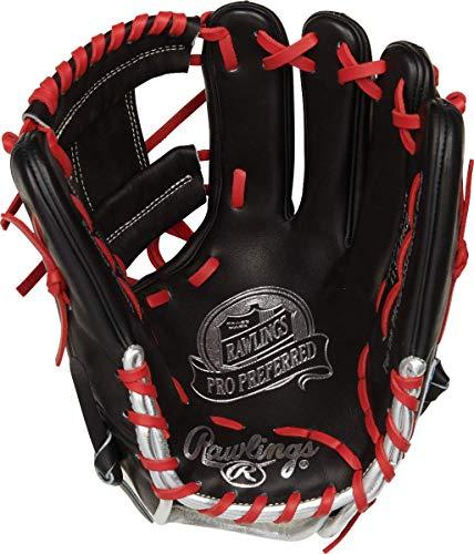Rawlings Pro Preferred Francisco Lindor Model Baseball Glove, Pro I Web, 11.75 inch, Right Hand Throw