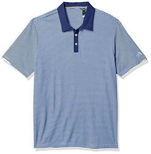 adidas Men's Heat.rdy Striped Polo Shirt