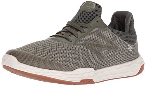 New Balance Men's Fresh Foam 818 V3 Cross Trainer, Dark Covert Green/Silver Mink, 8.5 4E US