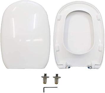 Toilet Seat Easy Pozzi Ginori Thermosetting White Soft Close Original Amazon Co Uk Diy Tools