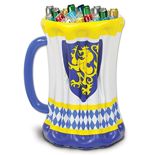 Beistle Inflatable Beer Stein Cooler, 18 by 27-Inch, 1 piece