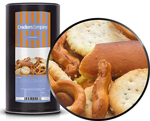 1 x 350g Snackmischung Bavaria mit Honig Senf Marinade bayrisches Salzgebäck Brezeln Laugengebäck Bayern Mischung