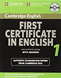 Cambridge First Certificate in English 1 for Updated Exam Self-study Pack: Official Examination Papers from University of Cambridge ESOL Examinations: Vol. 1 (FCE Practice Tests)