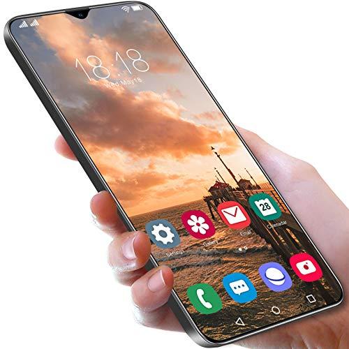 Smartphone S21 + 5G, Superpantalla De 6,7', 64 GB Ampliables, 4 GB De RAM, Batería De 6800 MAh, 5G, Dual Sim, Android 11 Pie, NFC, GPS,Black