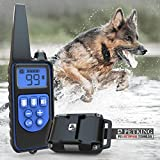 PetKing Premium Dog Training Collar with Remote for Small Large Dogs Anti Barking