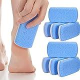 8 Packungen Doppelseitiger Bimsstein für Füße
