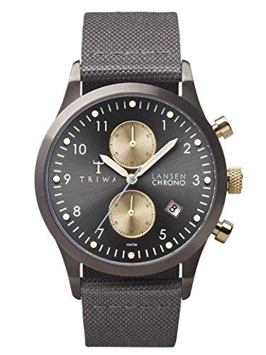 TRIWA Walter Lansen Chrono Armbanduhr grau LCST101_CL061613
