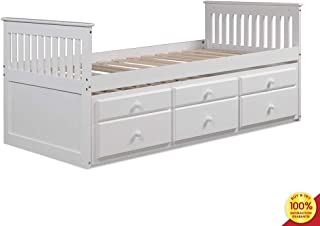 Best white daybed with bookcase Reviews