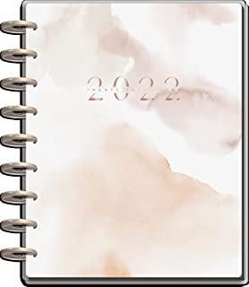 $29 » The Happy Planner Classic Sized 12 Month Planner - Neutral Watercolor Theme - January 2022 - December 2022 - Vertical Layo...