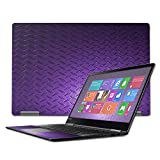 MightySkins Skin Compatible with Lenovo Yoga 710 15.6' - Purple Diamond Plate | Protective, Durable, and Unique Vinyl Decal wrap Cover | Easy to Apply, Remove, and Change Styles | Made in The USA