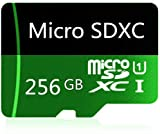 Micro SD Card 256GB High Speed Class 10 Micro SD SDXC Card with Adapter(256GB)