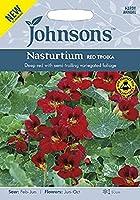 【輸入種子】 Johnsons Seeds Nasturtium RED TROIKA ナスターチウム レッド・トロイカ ジョンソンズシード 期限切れ(2021年12月)間近のため売り尽くしセール!