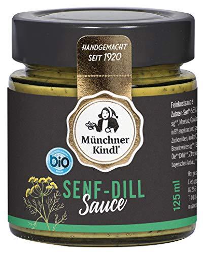 Münchner Kindl Senf Bio Senf-Dill-Sauce (1 x 125 ml)