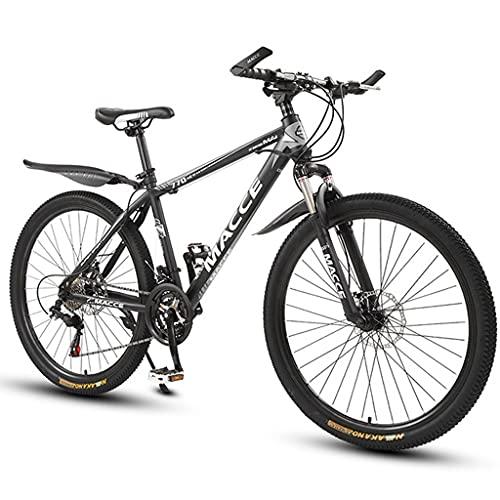 Bicicleta de montaña Mountainbike Bicicleta Bicicleta de montaña 26 pulgadas de hombres y mujeres 21/24/27 Velocidad de montaña Bicicleta, acero al carbono simple suspensión de la bici / estudiante ad