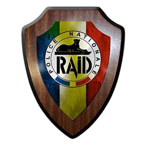 Écusson RAID #21354 - Police Nationale - Unité spéciale antiterrorisme, Paris en France - Force de recherche, d'intervention, d'assistance ou de dissuasion.