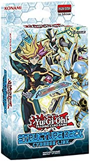 Yu-Gi-Oh! KON547359 Cyberse Link Structure Deck Card