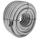Cavidotto corrugato flessibile diametro mm 40 metri 50 grigio (079621)