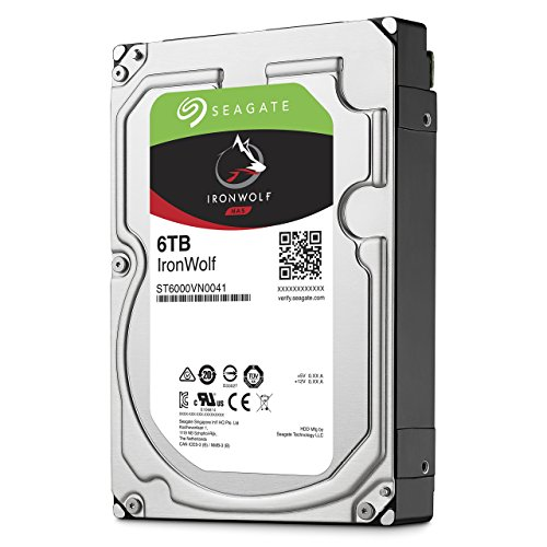 Seagate ST6000VN0041 interne Festplatte IronWolf 6 TB