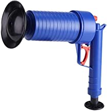 High Pressure Air Drain Pump Plunger Air Power Drain Blaster Pipe Dredge Tools (blue)