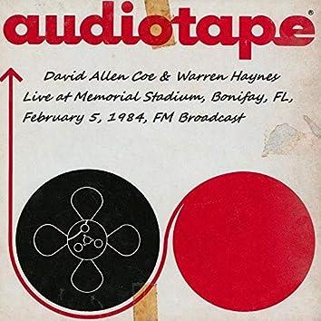 Live At Memorial Stadium, Bonifay, FL, Feb 5th 1984, FM Broadcast