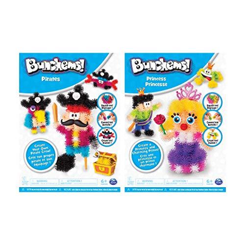Bunchems - 6039994 - Themen Set Drachen/Einhörner - Kreativ Sets mit fluoreszierenden Bunchems...