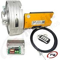 Automatismo (KIT MOTOR COMPLETO) para automatización de puertas y persianas metálicas enrollables ACM TITAN. Motor para puertas enrollables y persianas metálicas de hasta 170 Kg.