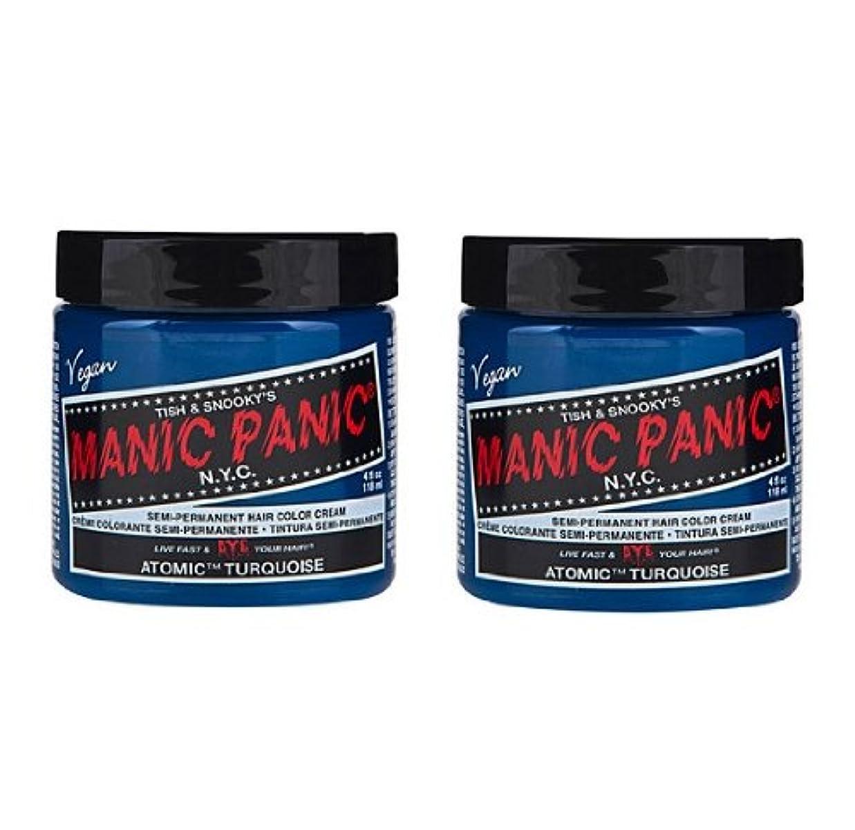 魅惑するベルトサポート【2個セット】MANIC PANIC マニックパニック Atomic Turquoise アトミックターコイズ 118ml