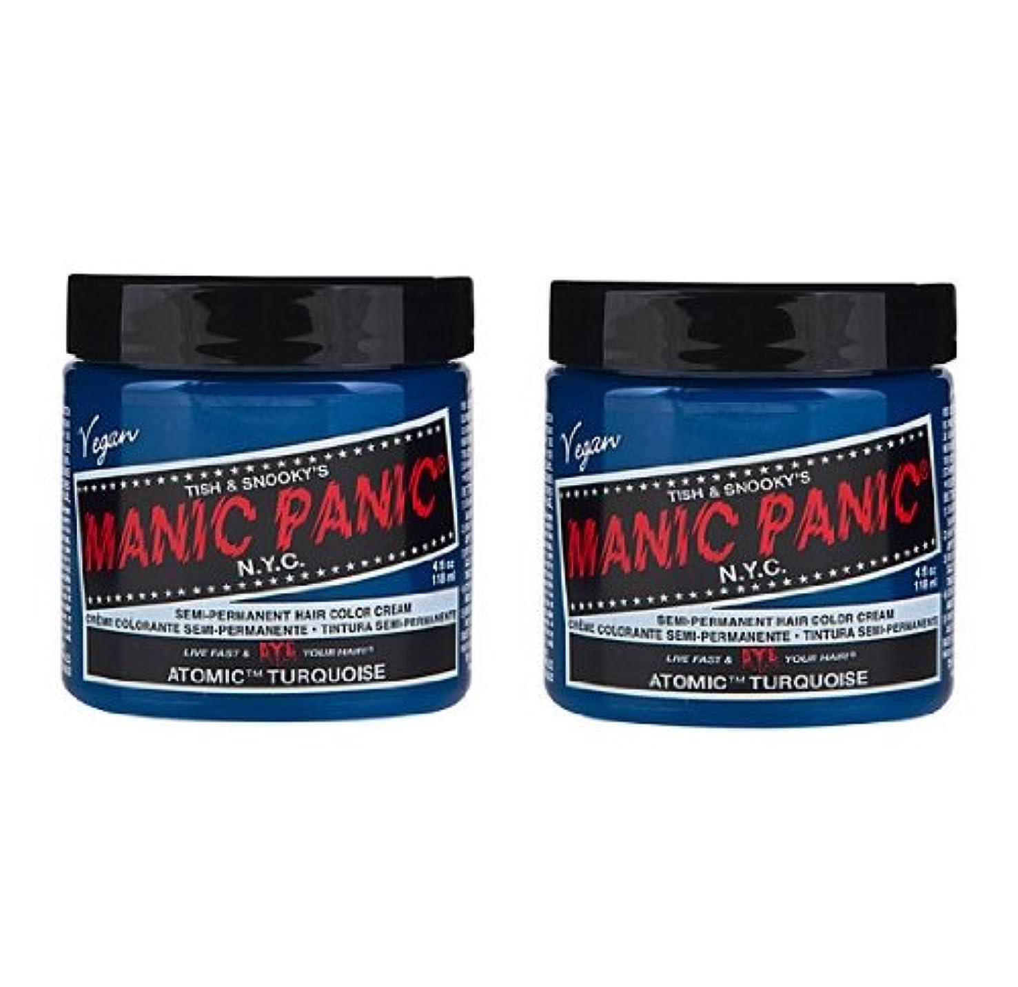 精神密接に軌道【2個セット】MANIC PANIC マニックパニック Atomic Turquoise アトミックターコイズ 118ml