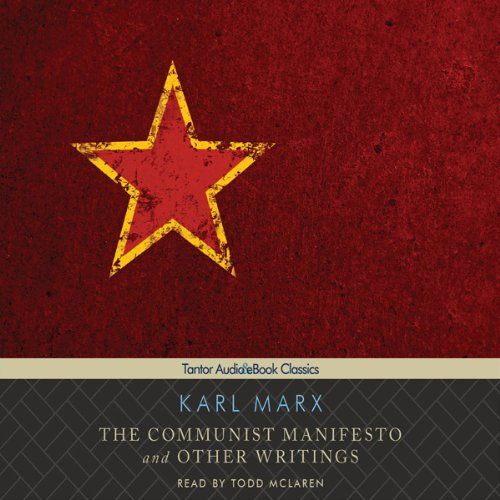 The Communist Manifesto and Other Writings copertina