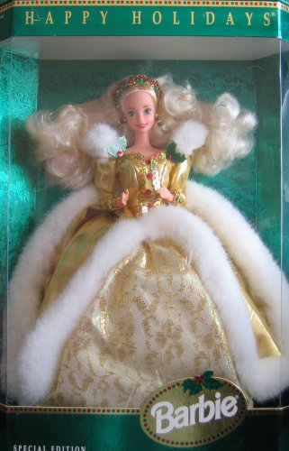 Barbie 1994 Happy Holidays
