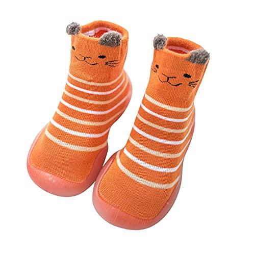 Weichen Sohle Lauflernschuhe Mädchen Junge Krabbelschuhe Kinder Bodensocken Rutschfest Babyschuhe Indoor Socken Schuhe Cute Tiere Kleinkind Schuhe Atmungsaktive Freizeitschuhe
