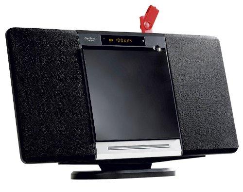 Clipsonic CH1034 - Minicadena (reproductor de DVD, radio FM, puerto USB, lector...