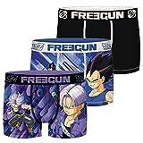 Freegun Dragon Ball Son Goku Et Son Gohan Fg/dbz/am/1/pk3 Ropa interior, P4, X-Grande para Hombre