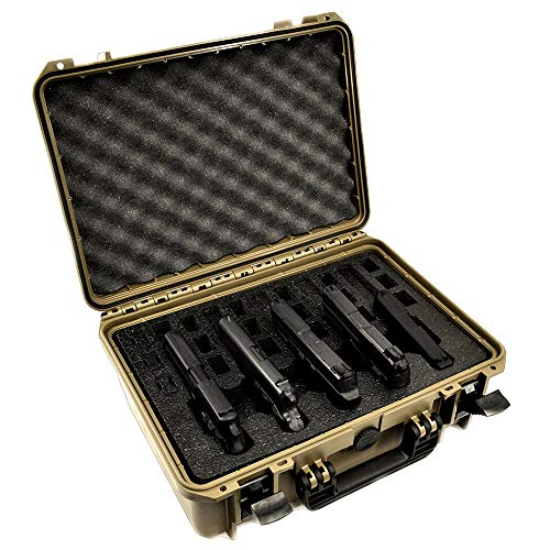 5 Pistol 18 Magazine Doro Gun Case with Custom MyCaseBuilder...