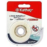Kathay 86003300. Cinta Adhesiva Invisible con Dispensador