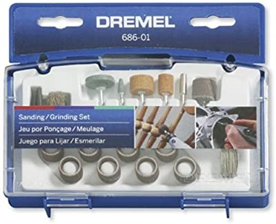 Dremel 686 31 Piece Sanding Grinding Bit Set
